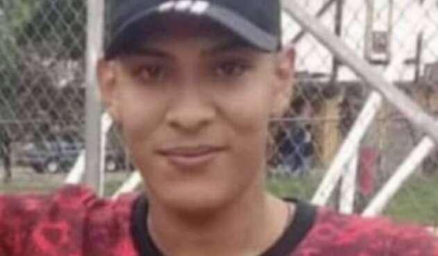 Jhon Erick Larrahondo, asesinado en Cali