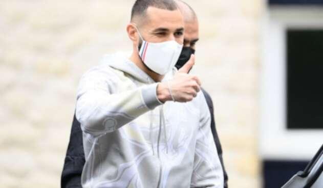 Karim Benzema se incorpora a la selección de Francia