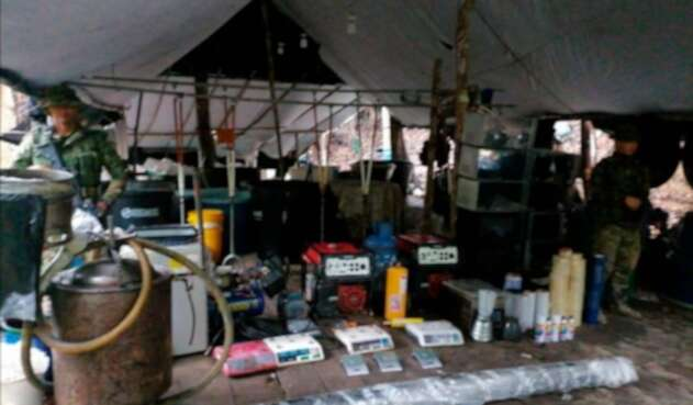 EL laboratorio ubicado en el Alto del Burro, sector rural del municipio de Morales, sur de Bolívar
