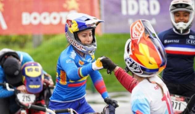 Mariana Pajón - Copa Mundo BMX de Bogotá