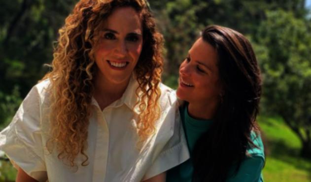 Nela González y Amalia Andrade