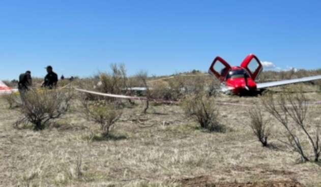 No les tocaba: Dos aviones chocaron, cayeron y nadie murió