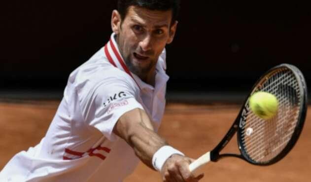Novak Djokovic en el Masters 1000 de Roma