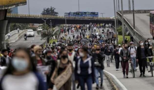 Marchas en Paro Nacional del 3 de mayo de 2021