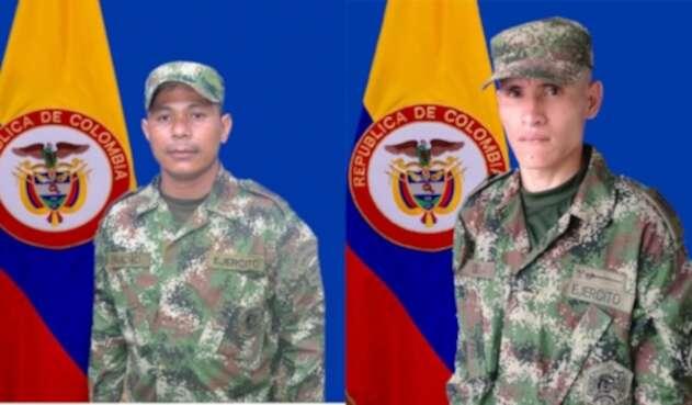 Soldados profesionales que perdieron la vida en combate