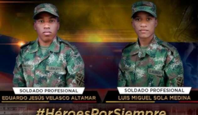 Dos soldados muertos tras activación de explosivo en La Gabarra