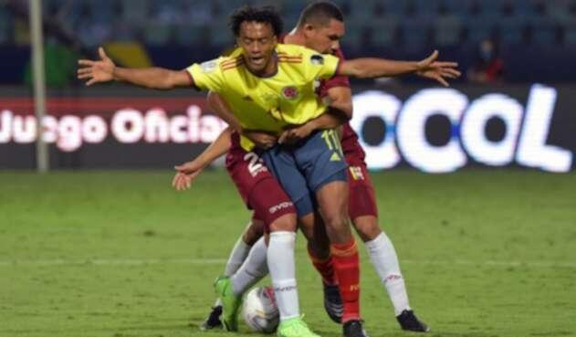 Juan Guillermo Cuadrado - Colombia vs Venezuela