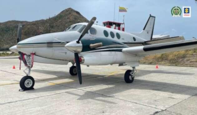 Avioneta de Miguel Jaramillo Arango