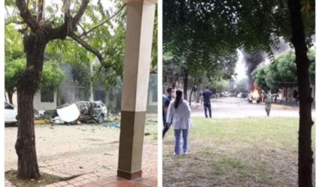 Atentado con carro bomba en batallón del Ejército en Cúcuta