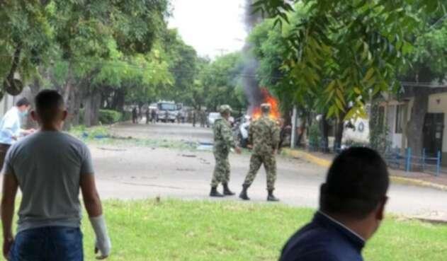 Atentando a batallón en Cúcuta