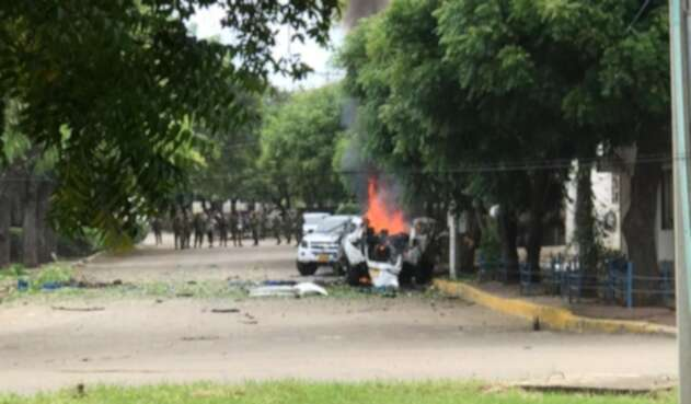 Explosión en Cúcuta