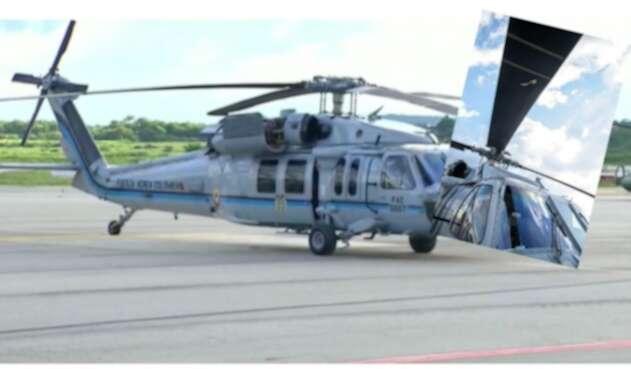 Helicóptero de Iván Duque: Imágenes de cómo quedó tras ataque armado