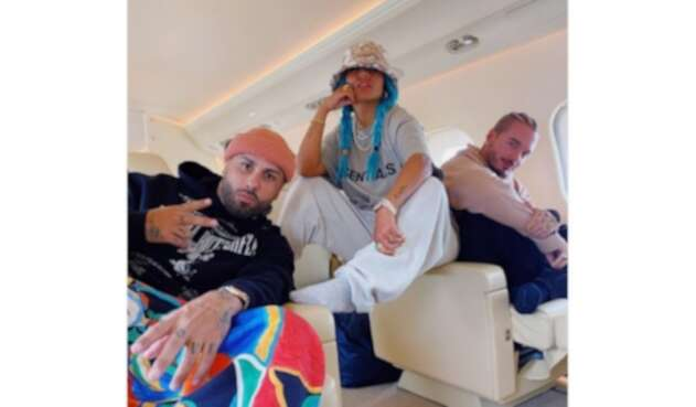 Karol G, J Balvin y Nicky Jam