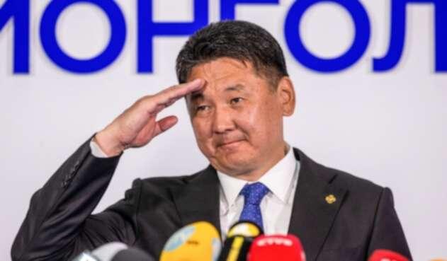 Khurelsukh Ukhnaa, presidente de Mongolia