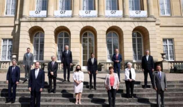 Ministros de finanzas del G7