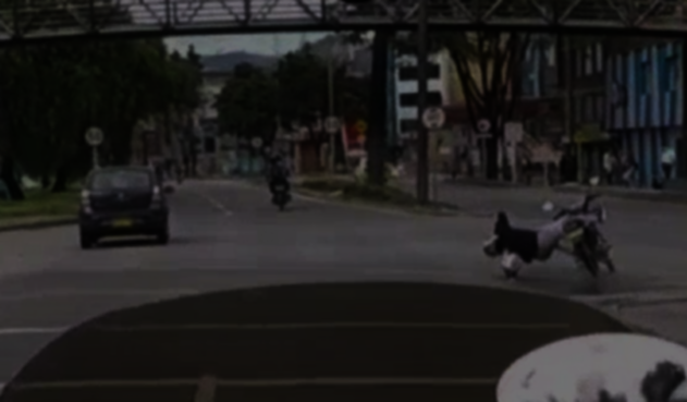 Motociclista baleado en la Avenida Boyacá