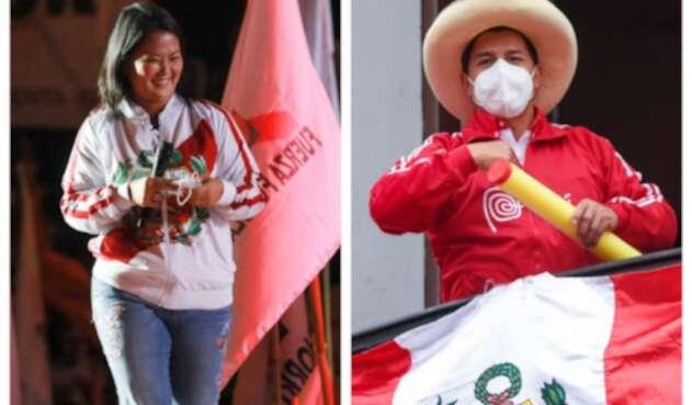 Keiko Fujimori y Pedro Castillo se disputan la segunda vuelta de las elecciones en Perú