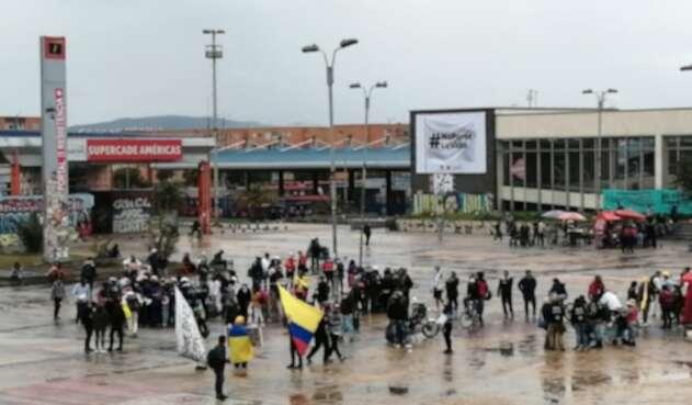 Protestas en Bogotá 09 de junio