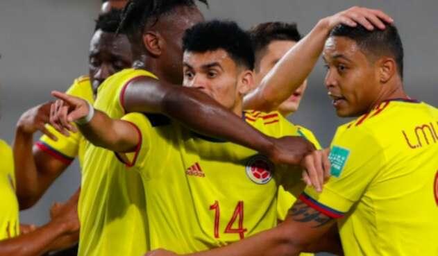 Selección Colombia Vs. Perú - Luis Díaz