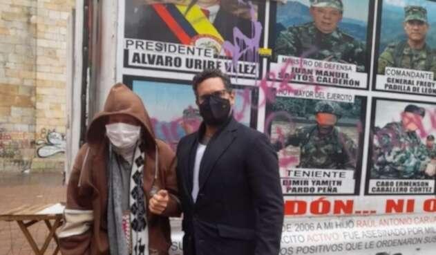 Raúl Carvajal padre de víctima de los 'falsos positivos'
