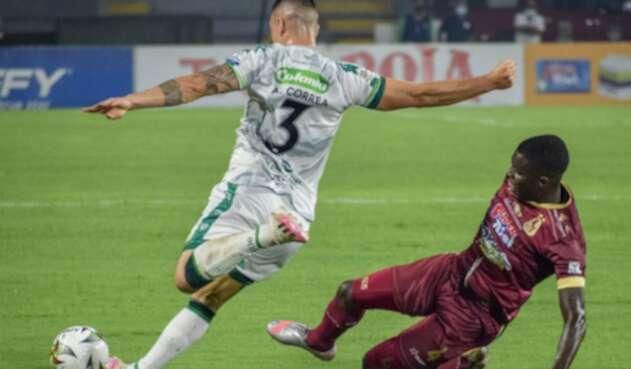 Deportes Tolima Vs. La Equidad - Liga BetPlay