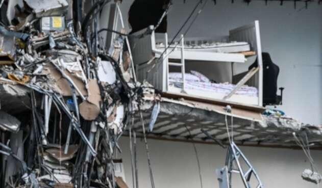 Colapso de un edificio en Miami Beach