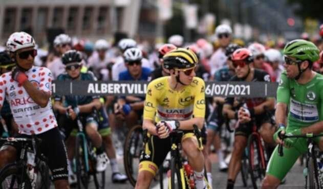 Pogacar y Nairo - Tour de Francia 2021