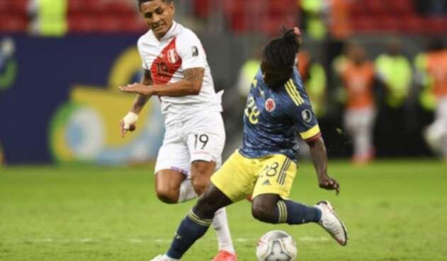 Yimmi Chará en la Selección Colombia