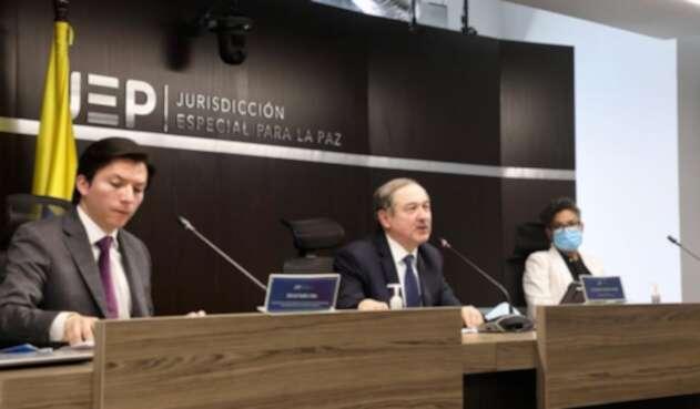 Presidente JEP Eduardo Cifuentes