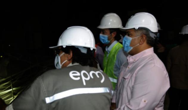 En junio de 2022 se encenderá la primera turbina de Hidroituango