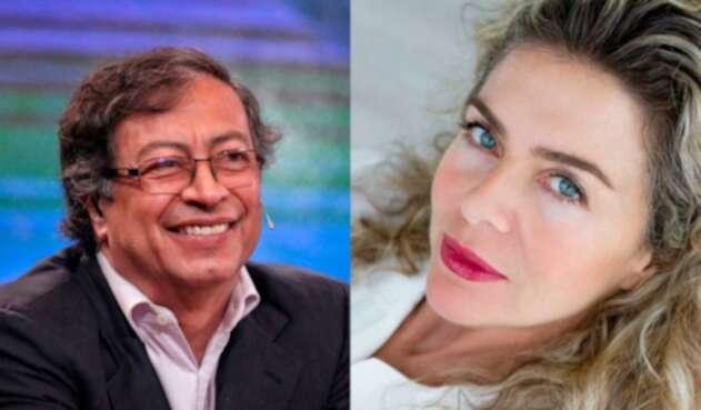Gustavo Petro y Margarita Rosa de Francisco