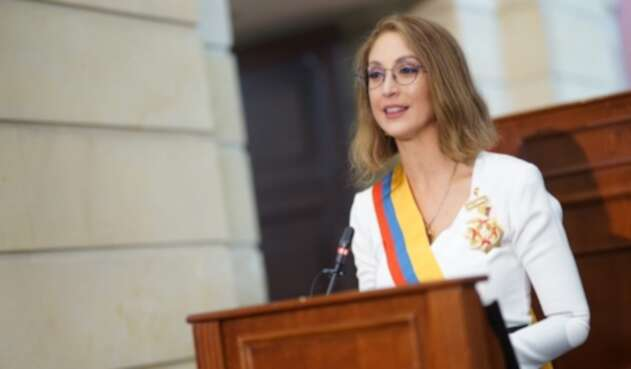 Jennifer Arias, presidenta de la Cámara de Representantes