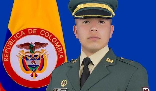 subteniente Cristian Sebastián Calderón