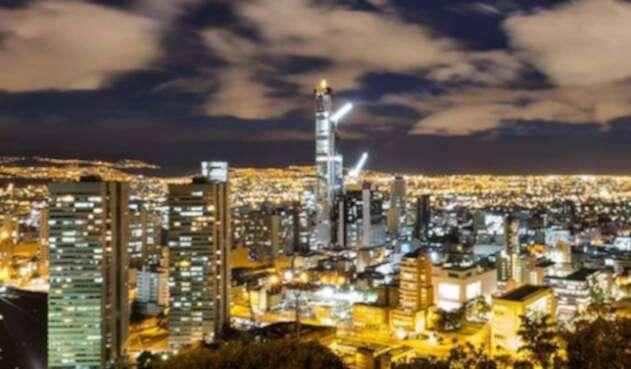 El BD Bacatá, es el edificio más grande del país que se construye en Bogotá.