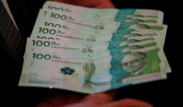 Imagen de referencia de dinero.