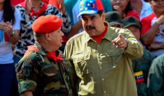 Diosdado Cabello y Nicolás Maduro lideran el gobierno venezolano