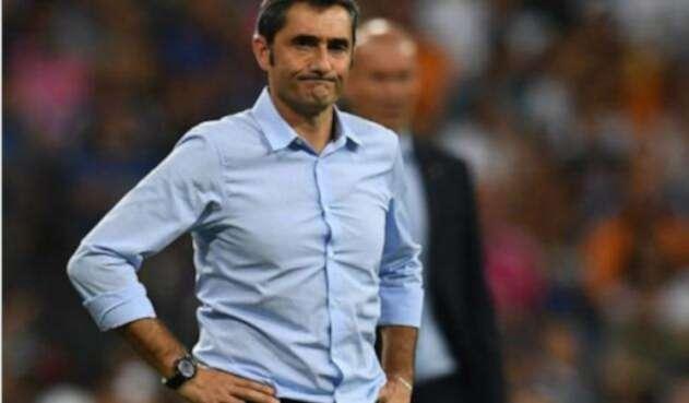 El técnico Ernesto Valverde