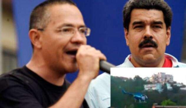 Ernesto-Villegas-ministro-de-Comunicación-venezolano-y-Nicolás-Maduro-AFP.jpg