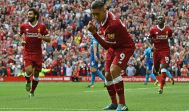 Firmino es en la actualidad uno de los jugadores más importantes del Liverpool