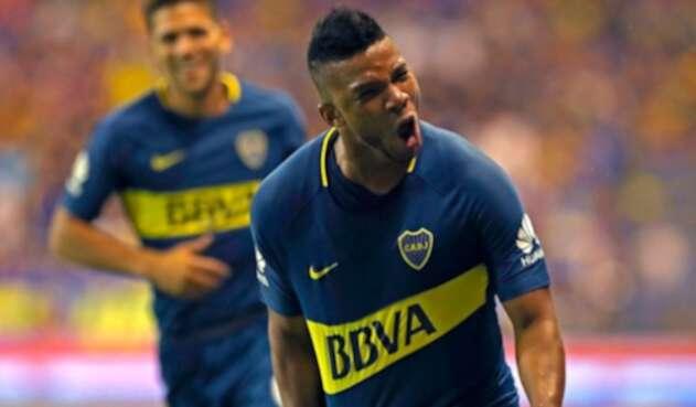 Frank Fabra, futbolista colombiano al servicio de Boca