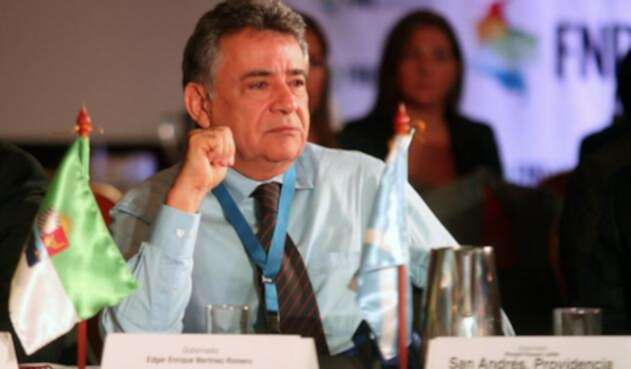 Edgar Martínez, gobernador de Sucre