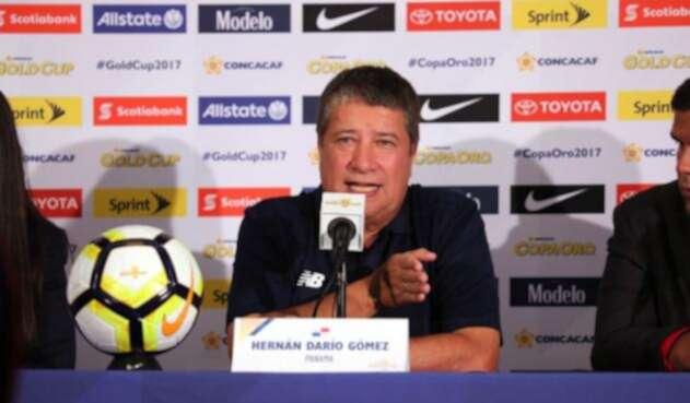Hernan Darío Gómez dirigió a la Selección de Panamá en Rusia 2018