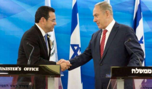 Jimmy-Morales-Benjamin-Netanyahu.jpg
