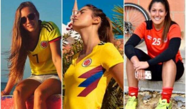 6151e3b200 Polémica porque Paulina Vega presentó camiseta de la Selección Colombia