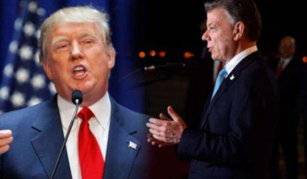 Santos-y-Trump-AFP-Colprensa.jpg