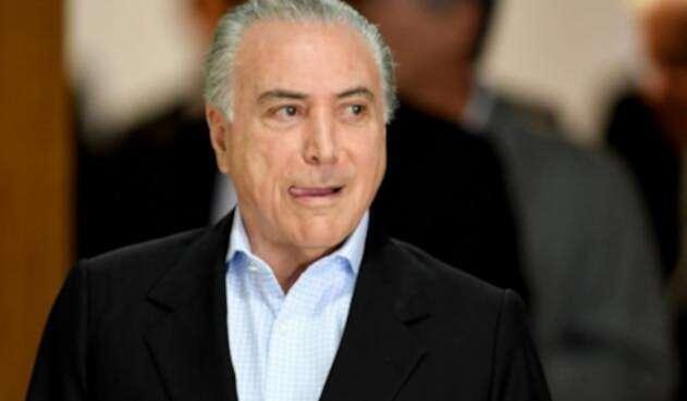 Fiscalía de Brasil denuncia al presidente Temer en otro caso de corrupción.