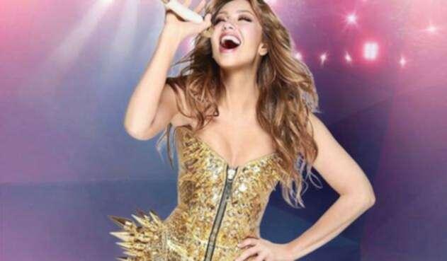Seguidores critican a Thalía por supuestamente hacer playblack.