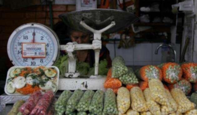 Alimentos en el mercado