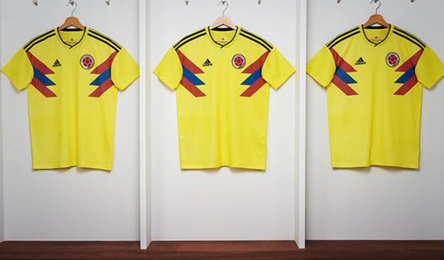 fa2e57944e9 La camiseta de la Selección Colombia para Rusia 2018