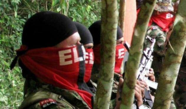 Guerrilleros del ELN / AFP